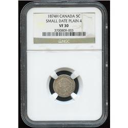 1874H Five Cents
