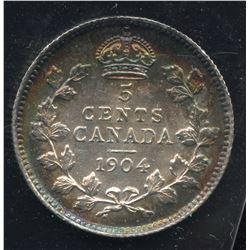 1904 Five Cents