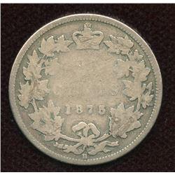 1875H Twenty-Five Cents