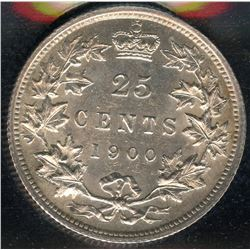 1900 Twenty-Five Cents
