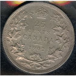 1902H Twenty-Five Cents