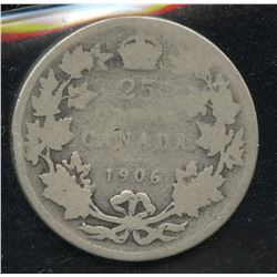 1906 Twenty-Five Cents