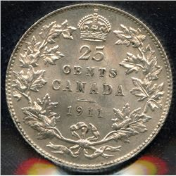 1911 Twenty-Five Cents