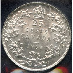 1936 Twenty-Five Cents