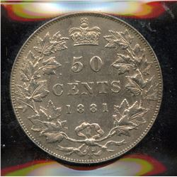 1881H Fifty Cents