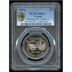 1974 Nickel Dollar