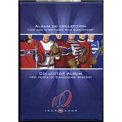Montreal Canadiens 50 Cents Complete Set in Album