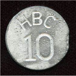 HUDSON'S BAY COMPANY - So-called SOUTH DAKOTA HOARD - 10 Cents