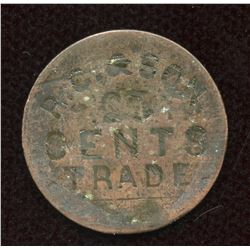 British Columbia - Skeena - Private Fur Trade Token