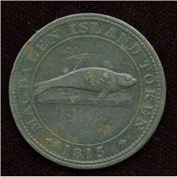 Br. 520. Magdalen Island Penny, 1815