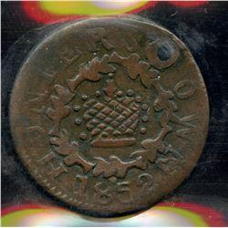 Br. 567. Rare Hunterstown Token