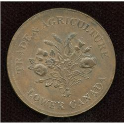 Br. 714. Bank of Montreal Token
