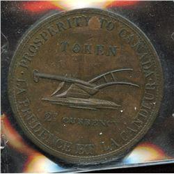 Br. 717. Lesslie & SONS Two Pence, 1822