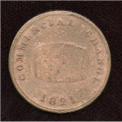 Br. 729. Cask Marked Jamaica, 1821