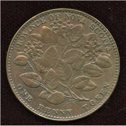 Nova Scotia. Br. 875. N.S. Mayflower Penny