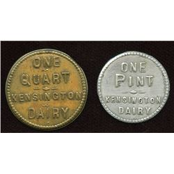 Ontario Tokens. Lot of 2