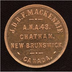 New Brunswick Numismatist Token