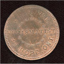 Ontario Numismatist Token