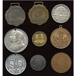 Miscellaneous Royalty Items. Lot of 9