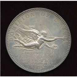 Dominion of Canada Exhibition Silver Medal