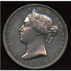 New Brunswick Militia Volunteers Medal
