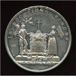 Newfoundland, St. John's. Temperance medal, c. 1880's