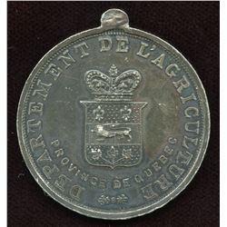 Quebec Agricultural Medal.