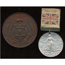 Manitoba Medals. Lot of 2