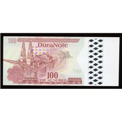 Duranote 100 Test Note - Interweave Transparent Watermarks Windows