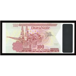 Duranote 100 Test Note - Transparent Window