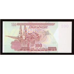 Duranote 100 Test Note - No Window