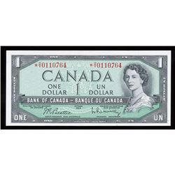 Bank of Canada $1, 1954 Replacement