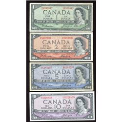 Bank of Canada Devil's Face Set - $1 to $100