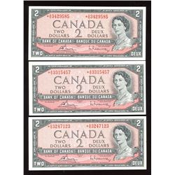 Bank of Canada $2, 1954 Replacement