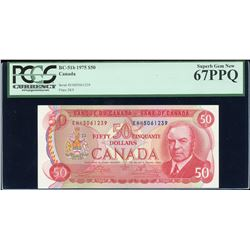 Bank of Canada $50, 1975
