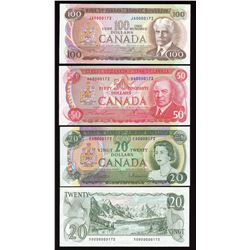 Bank of Canada Matching Serial Number Set #172