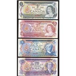 Bank of Canada Specimen Set, Multicolour Series
