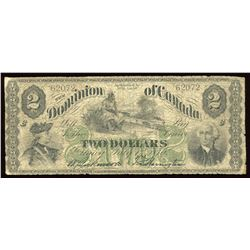Dominion of Canada $2, 1870