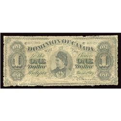 Dominion of Canada $1, 1878