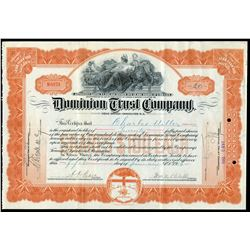 Dominion Trust Company