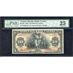 Barclays Bank $10, 1935