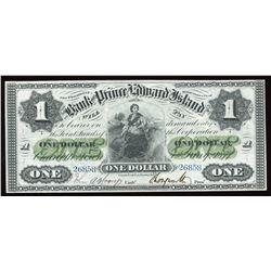 Bank of Prince Edward Island $1, 1877