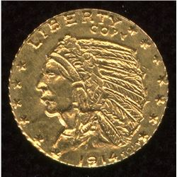 1914 USA $5 Indian Head Gold Mini Coin