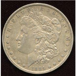 1884 O USA Silver Dollar