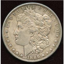 1886 USA Silver Dollar