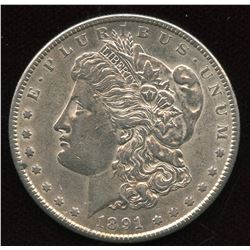 1891 S USA Silver Dollar