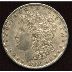 1896 USA Silver Dollar