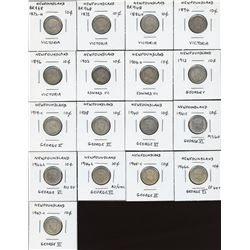 Newfoundland Ten Cents - Lot of 17