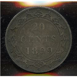 1899 Newfoundland Twenty Cents