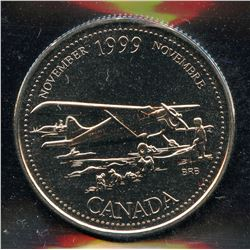 1999 November Mule Twenty-Five Cents